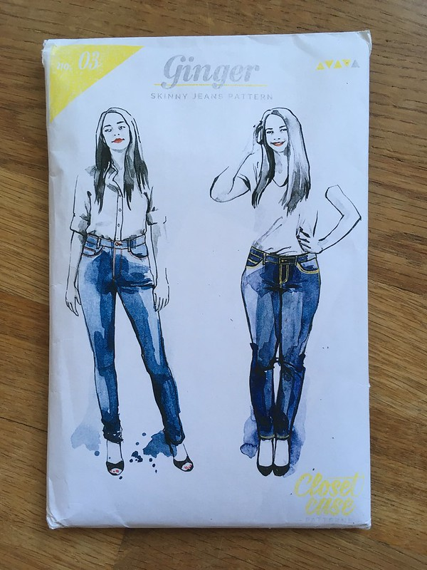 Ginger Jeans by Closet Case Files