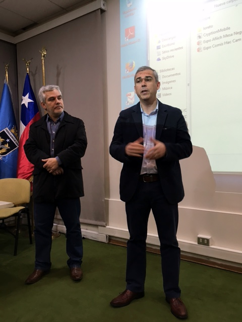 AFIICH invitada por ANFDGAC a exponer sobre exitoso proceso de negociación en el SII - 06 Mayo 2016