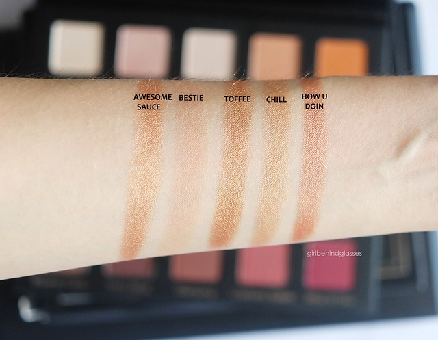 Violet Voss Cosmetics Holy Grail Palette Row 2 swatches
