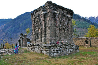2000 years old Sree/Siri Sharada Devi Temple, Sharada, Kashmir, Pakistan