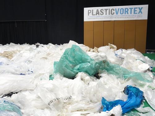 Plastic Vortex at Ecomondo