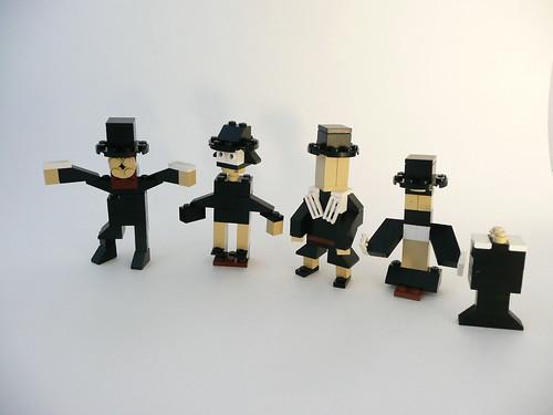 Pilgrim's Pride in Legos