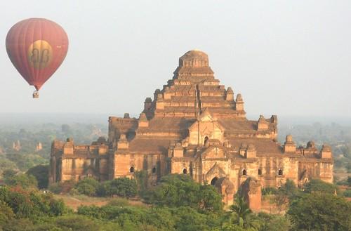 Bagan- Coucher de soleil (2)