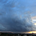 Storm clouds over Gozo by Meteo Malta