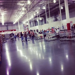 Apparently the time to shop at Costco is Black Friday at 7pm. Empty.