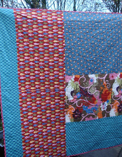 Oddyssea Wild Thing Quilt back
