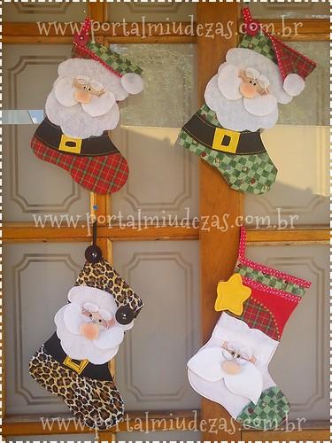 Botinhas De Papai Noel - Para todos os Gostos ! =D by miudezas_miudezas