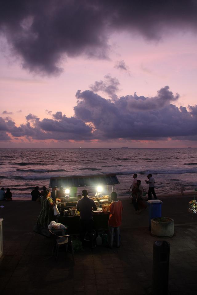 Sunset in Colombo, Sri Lanka