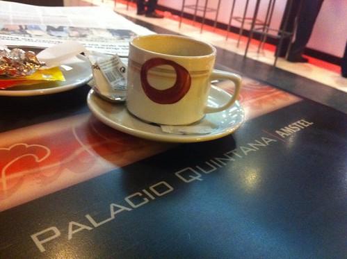 Cafe bar PALACIO QUINTANA, Plaza Gas Bilbao by LaVisitaComunicacion