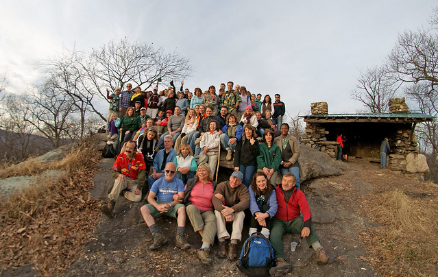 Group Photo - Harriman Hikers 2011 Sunday-After-Thanksgiving Hike 2011