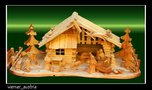 11-11 Zirbenholzkrippe