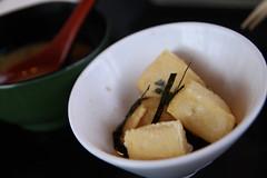 Agedashi-dofu