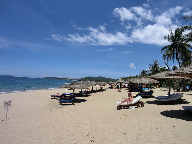 ベトナム・ニャチャンビーチ(Nha Trang Beach Vietnam)