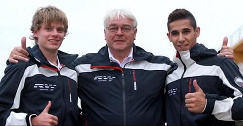 Luis Salom(dcha) equipo holandés RW Racing GP de Moto3
