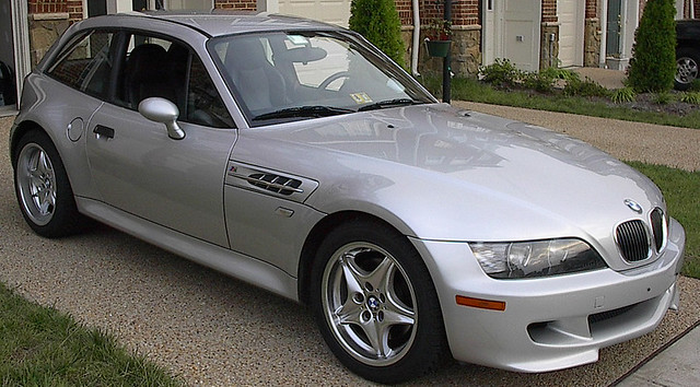 2000 M Coupe | Titanium Silver | Black | Sunroof Delete
