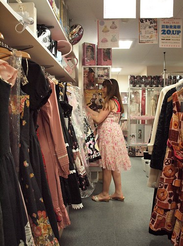 Any nice dresses?
