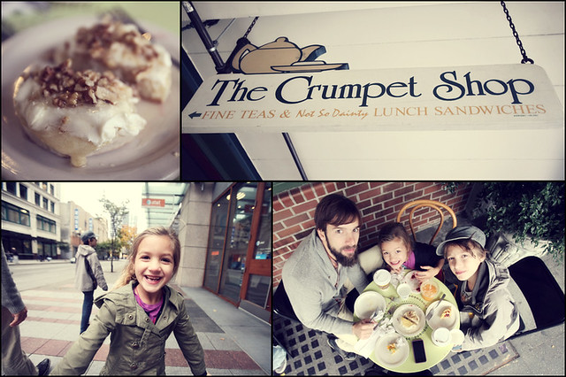 the crumpet shop>Seattle Washington