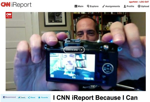 I CNN iReport Because I Can - CNN iReport by stevegarfield