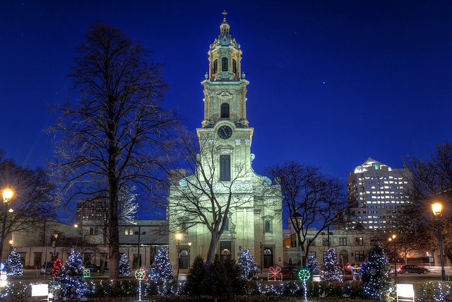 Cathedral Square Lights