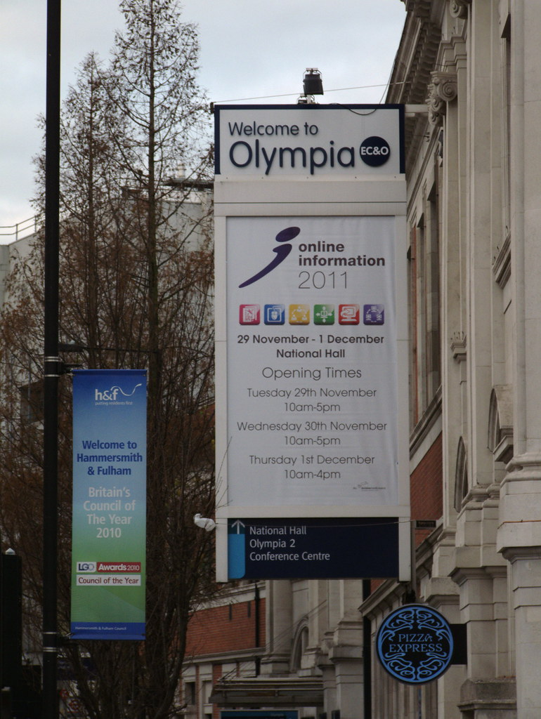 Online Information 2011, Olympia, London