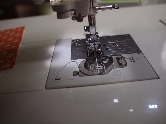 1/4 inch foot on my brother sewing machine