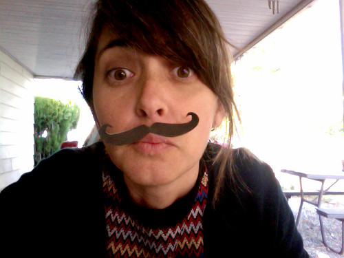 Ms. Ponnay, you seem to have some extra facial hair growing on your upper lip