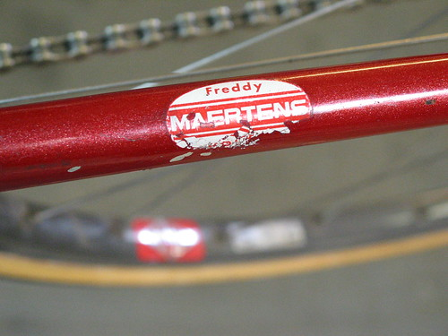 Chainstay decal