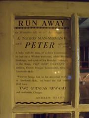 Museum of London Docklands - The Legal Quay - Run Away - Peter