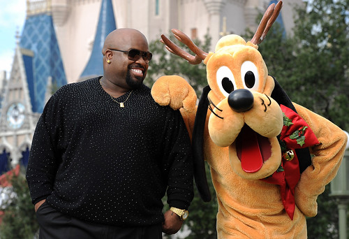 Cee Lo Green tapes Christmas day TV special at Walt Disney World