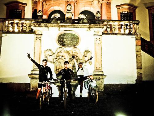 Emocionante chegada em Ouro Preto