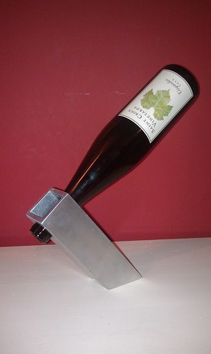 Wine Bottle Holder by MeshedDesigns