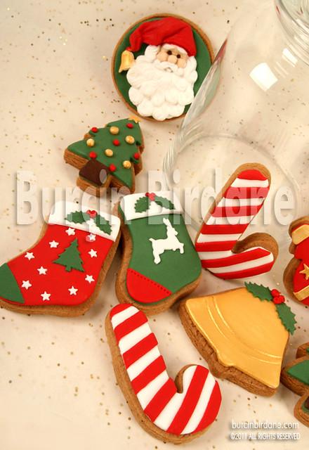 yeni yil kurabiye