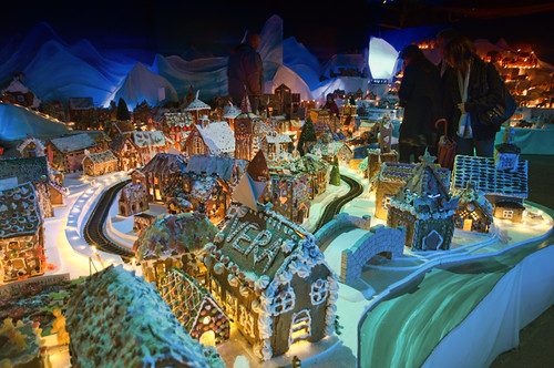 Pepperkakebyen, The Gingerbread city of Bergen