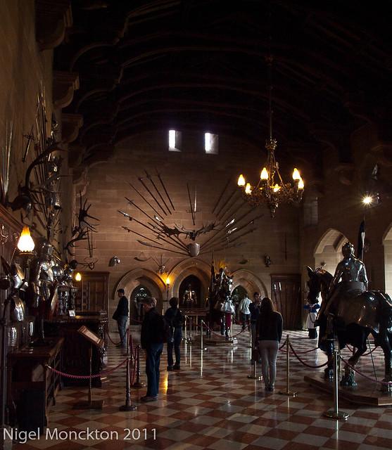 Warwick Castle - minimal processing