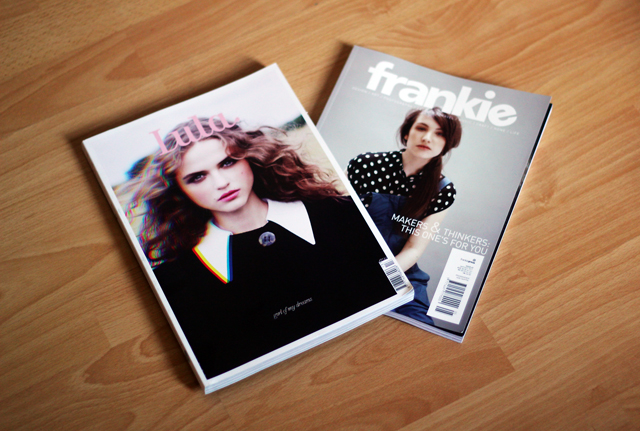 Lula and Frankie Magazine