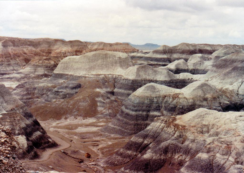 1990, Painted Desert, Arizona
