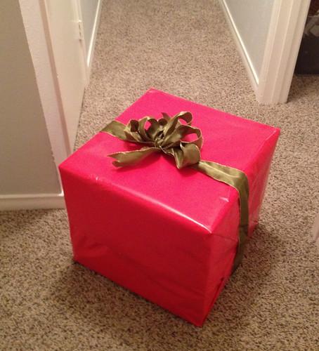 Box from our Secret Santas
