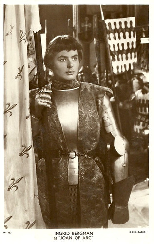 Ingrid Bergman in Joan of Arc (Victor Fleming 1948)