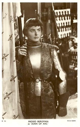 Ingrid Bergman in Joan of Arc (Victor Fleming 1948)