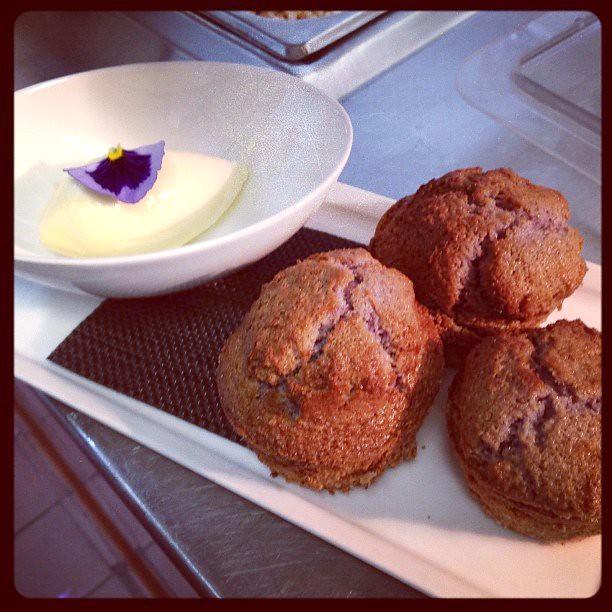 Blue corn muffins by Caroline on Crack