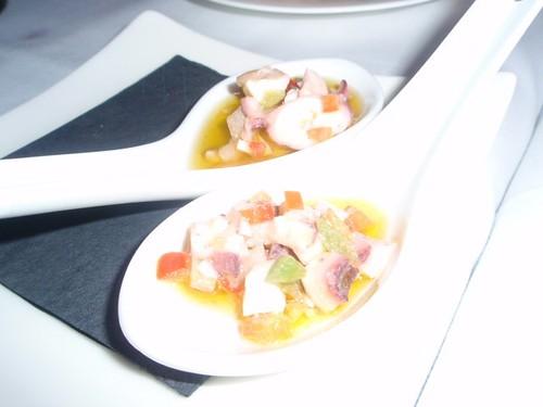 Logroño | Restaurante Le Bistro | Salpicón de pulpo