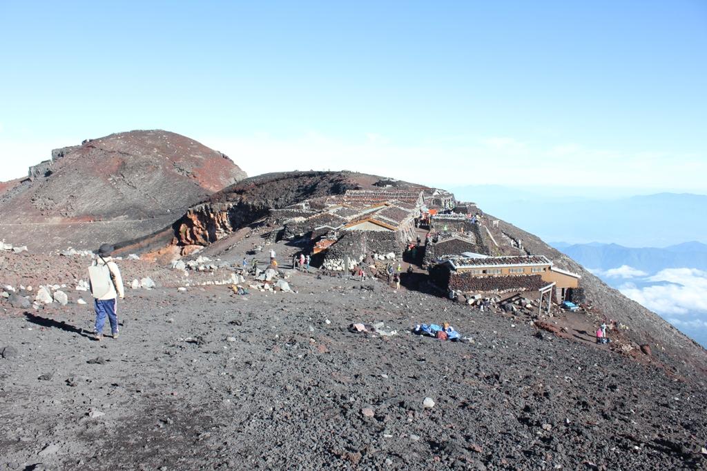 Mt. Fuji experience report (Yoshida route) Part4 (9)