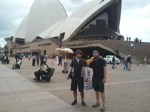 adam and dan arrive at the opera house
