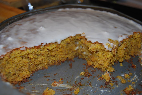 yummy pumpkin cake bread