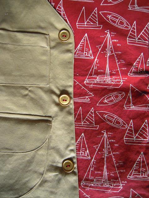 Lining of Explorer Vest