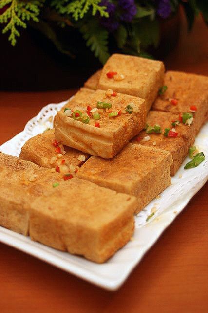 Crispy Beancurd with Salt & Pepper