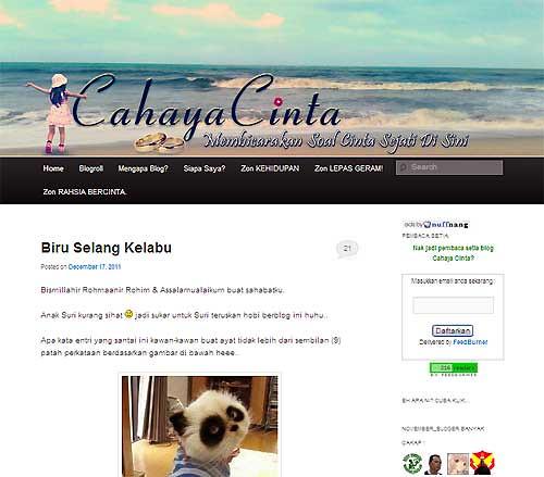 Blog CahayaCinta