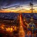 paris je t'aime encore HDR ~ Paris ~ France ~ Haussmann by '^_^ Damail Nobre ^_^'