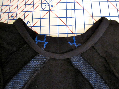 Bias Tape Neckline Finish