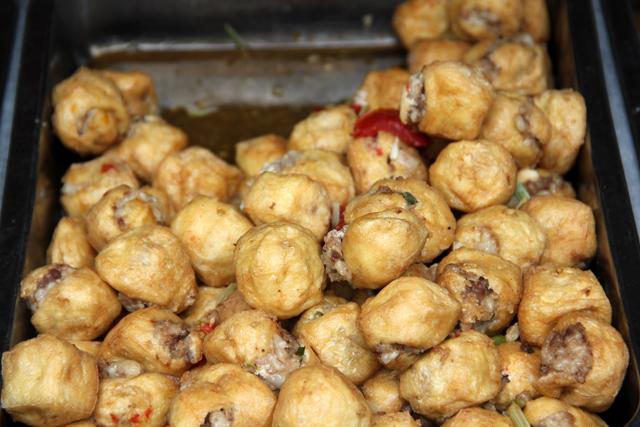 Pork Stuffed Tofu Balls